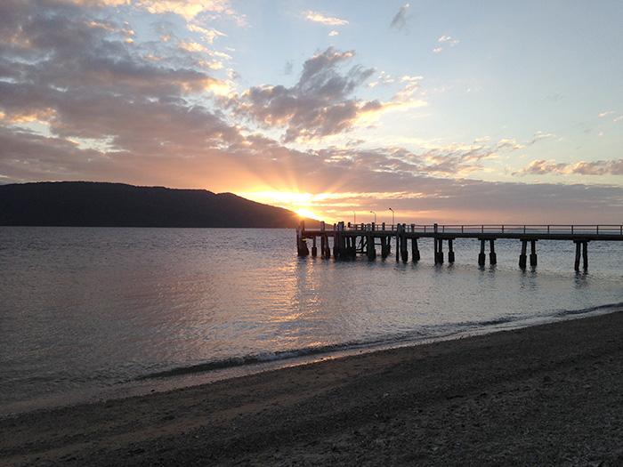 Daydream Island sunset