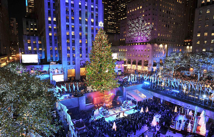 new york usa rockefeller christmas - Best Places To Spend Christmas In Usa